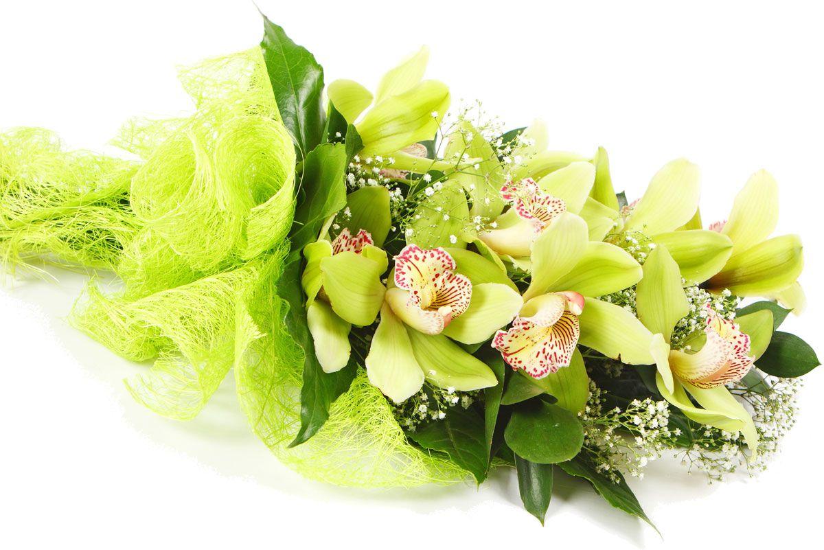 Открытки с днем рождения с букетами орхидей, день газовика